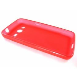 Funda Gel Tpu  Samsung Galaxy Core 4G G386F X Line Color Roja